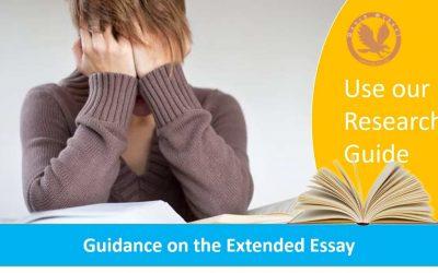 IB Math EE Guidance